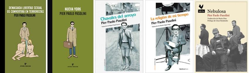 Reediciones Pier Paolo Pasolini