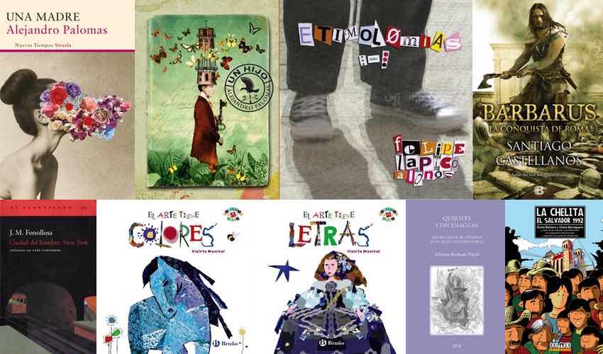 Libros autores invitados - Letras Corsarias Librería Salamanca