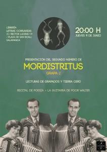 Mordistritus - Letras Corsarias Librería Salamanca