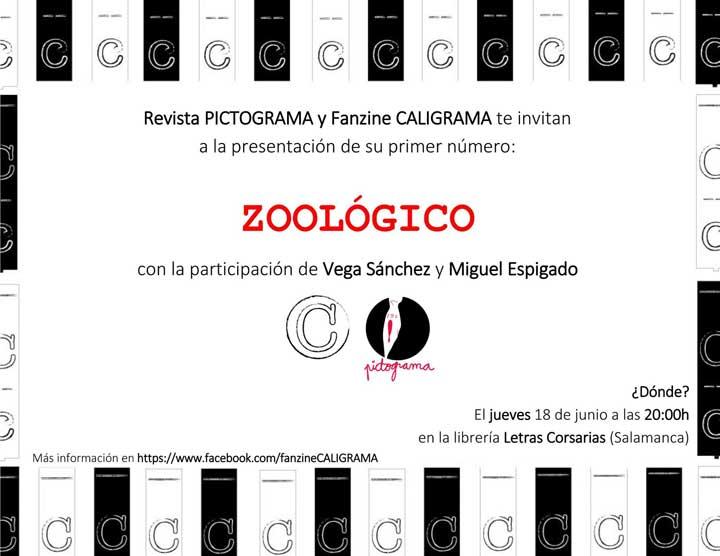 Presentación Fanzine Caligrama - Letras Corsarias Librería Salamanca