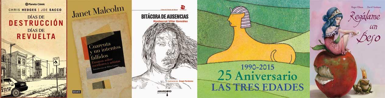 Libros de la semana - Letras Corsarias Librería Salamanca