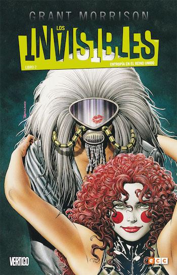 Los Invisibles Grant Morrison - Letras Corsarias Librería Salamanca