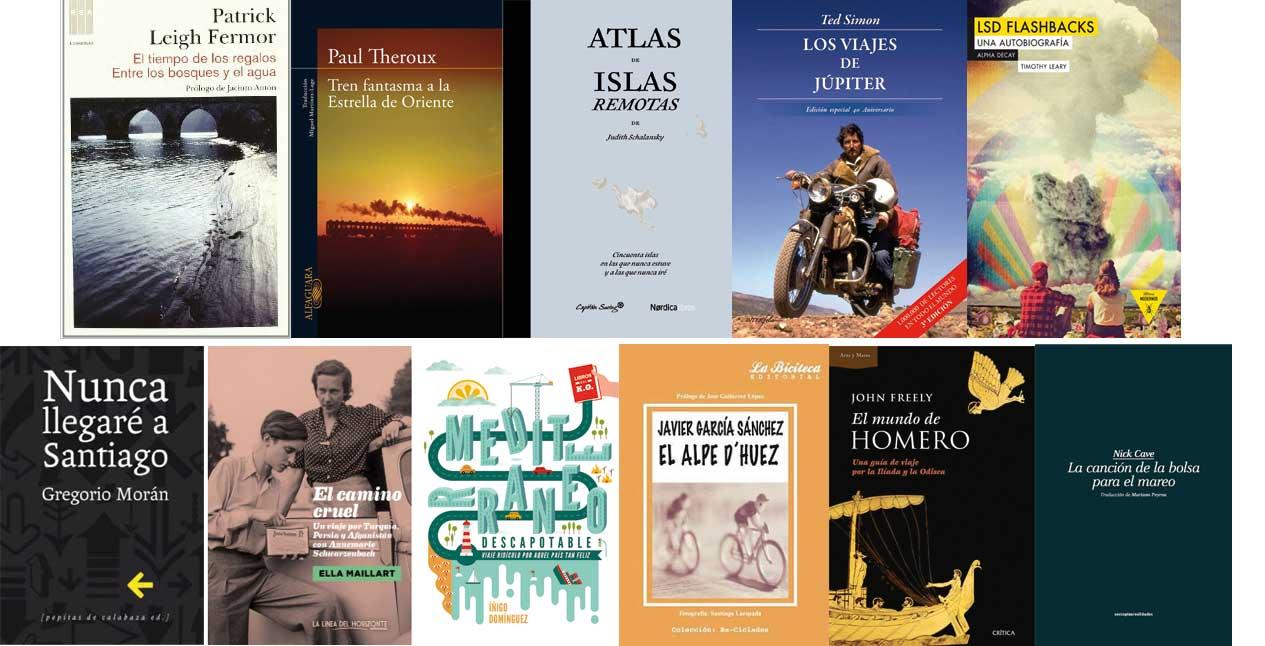 Libros sobre viajes Letras Corsarias Librería Salamanca