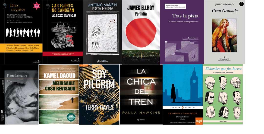Novela negra adultos verano Letras Corsarias Librería Salamanca