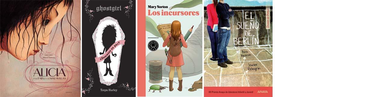 Selección verano de 12 a 14 años Letras Corsarias Librería Salamanca