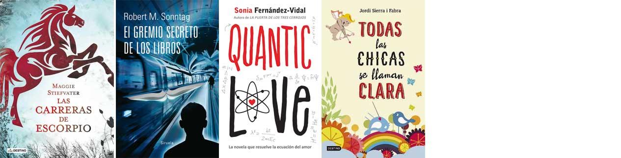 Selección verano desde 15  años Letras Corsarias Librería Salamanca