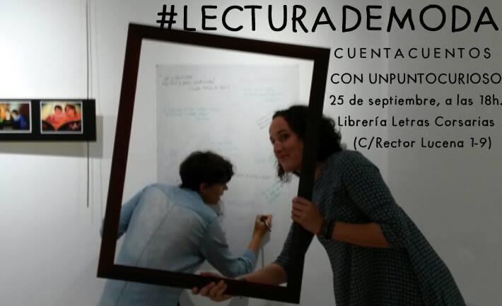 Cuentacuentos curioso - Letras Corsarias Librería Salamanca