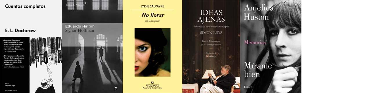 Libros recomendados septiembre - Letras Corsarias Librería Salamanca