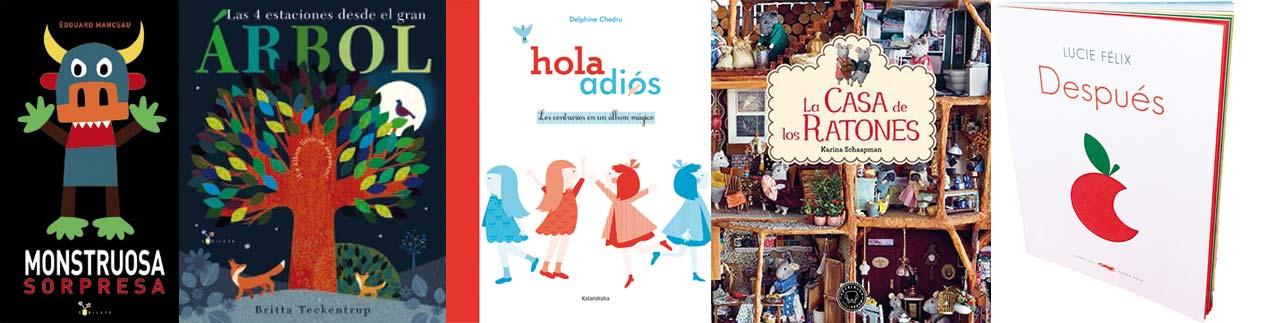 Libros recomendados álbum ilustrado - Letras Corsarias Librería Salamanca