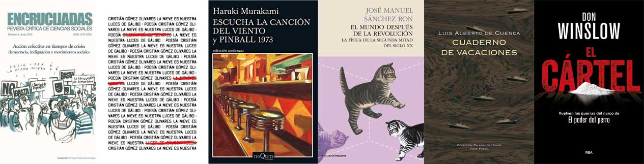 Libros recomendados semana 24 -Letras Corsarias Librería Salamanca