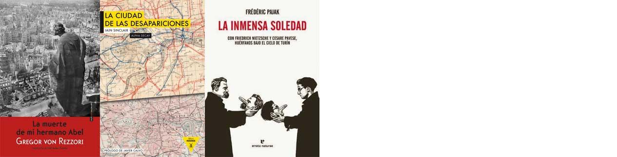 Los tres libros recomendados de 2015 - Letras Corsarias Librería Salamanca