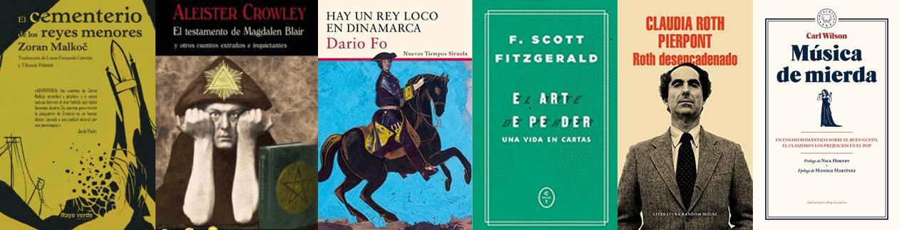 Libros recomendados Semana 42 - Letras Corsarias Librería Salamanca