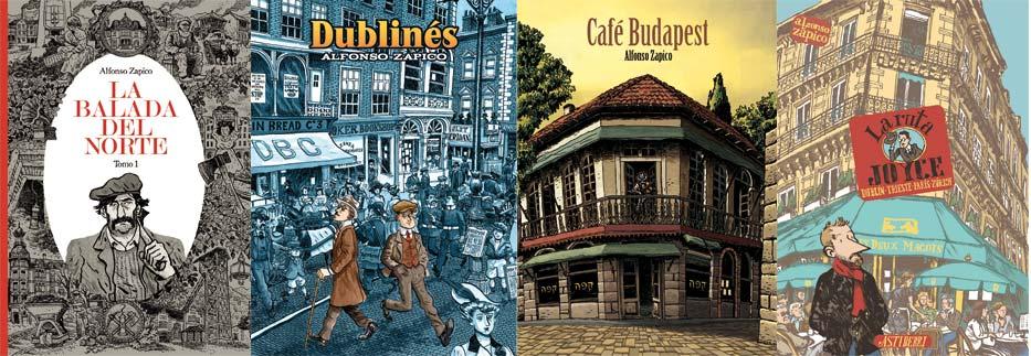 Libros de Alfonso Zapico en Letras Corsarias Librería Salamanca