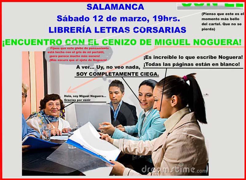 Miguel Noguera - Letras Corsarias Librería Salamanca