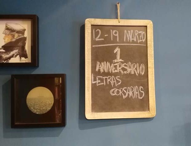 Primer aniversario - Letras Corsarias Librería Salamanca
