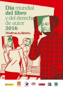 Día del Libro 2016 Salamanca - Cartel de Paco Roca - Letras Corsarias Librería Salamanca