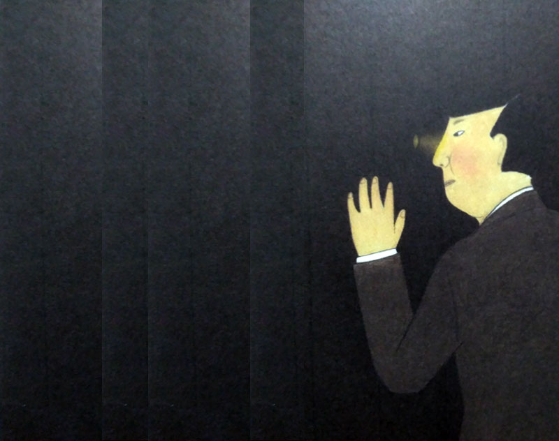 Montaje sobre una ilustración de Yoko Nakajima para El club de Los Gourmets