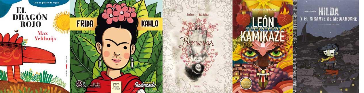 Libros recomendados infantil - Feria del Libro - Letras Corsarias Librería Salamanca