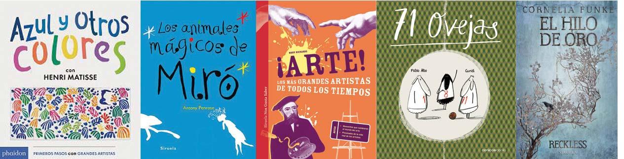 Libros recomendados LIJ - Letras Corsarias Librería Salamanca