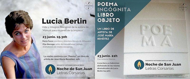 Noche de San Juan en Letras Corsarias Librería Salamanca