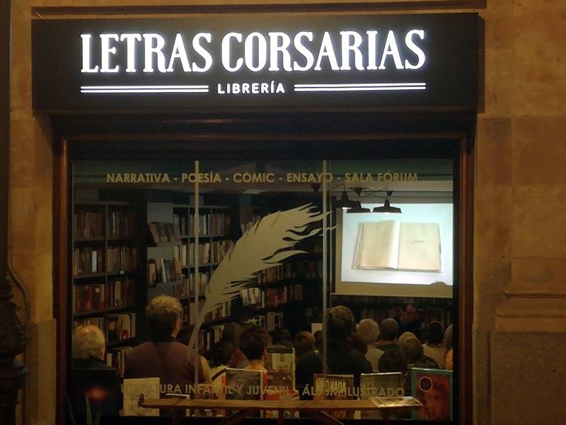 Letras Corsarias Librería Salamanca
