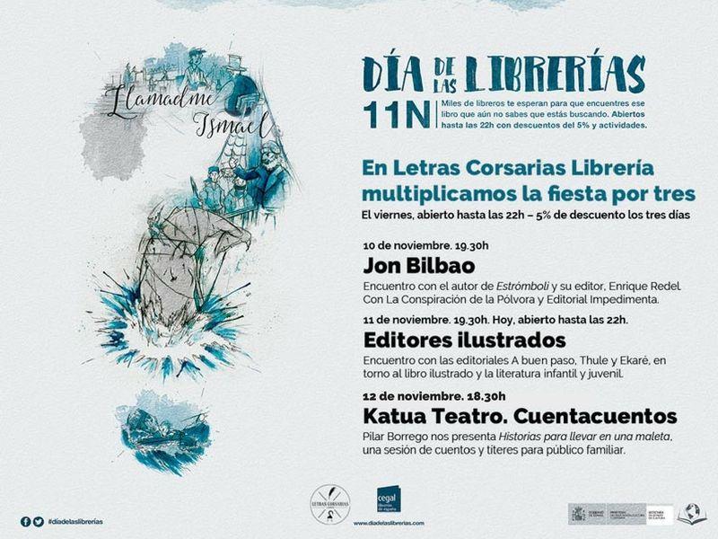 Día de las Librerías 2016 - Letras Corsarias Librería Salamanca