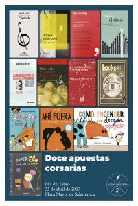 Día del Libro Salamanca 2017 - Letras Corsarias Librería Salamanca