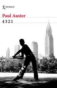 Paul Auster - 4 3 2 1 - Letras Corsarias Librería Salamanca