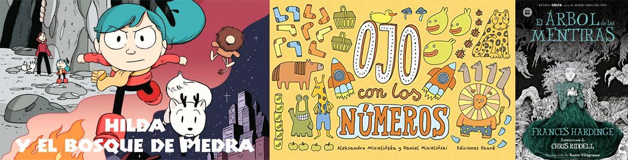 Libros favoritos infantil y juvenil 2017 - Letras Corsarias Librería Salamanca