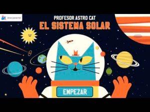 Profesor Astrocat - Sistema Solar