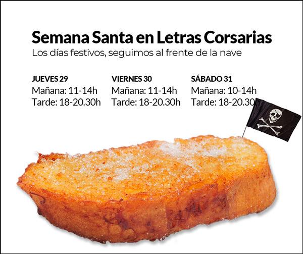 Semana Santa en Letras Corsarias Librería Salamanca