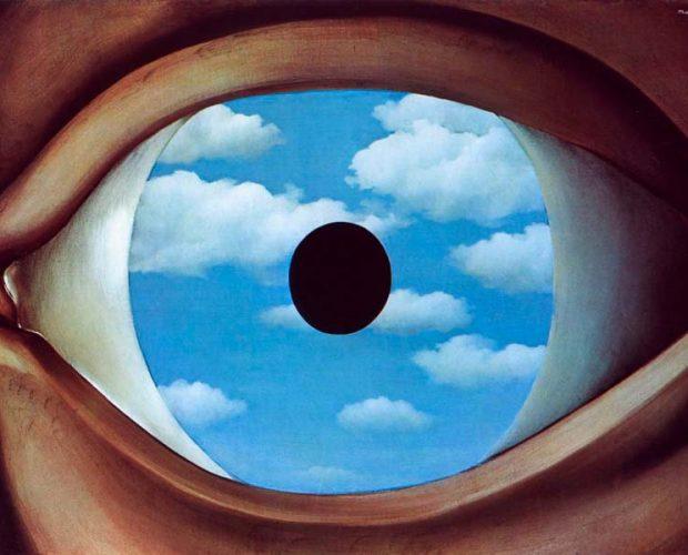 El falso espejo – René Magritte