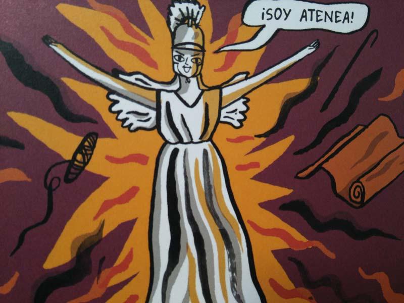La historia de Atenea – Isabel Greenberg