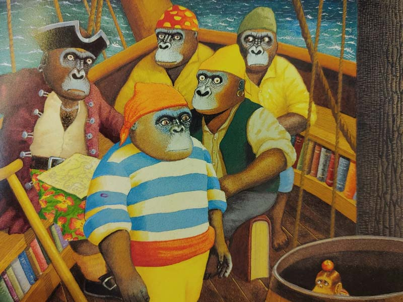 Ilustración de Anthony Browne