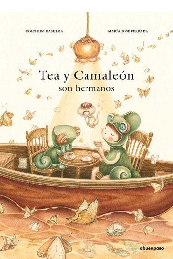 Tea y Camaleón son hermanos