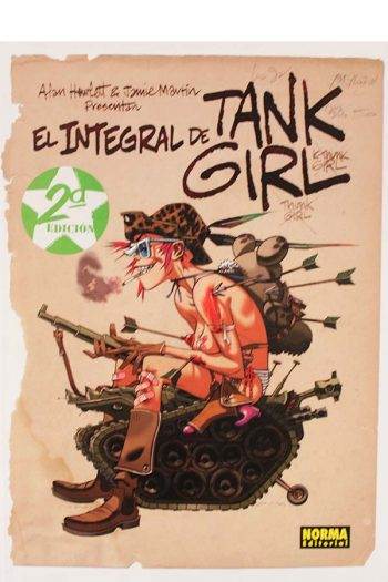 El integral de Tank Girl