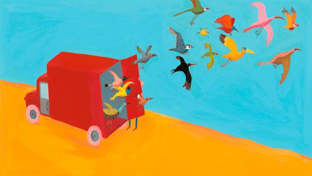 Pájaros – Albertine