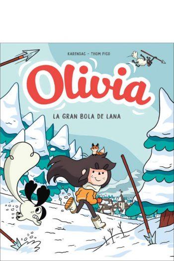 Olivia. Y la gran bola de lana (Olivia 3)