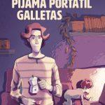 Pijama, portátil, galletas