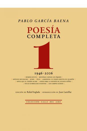 Poesía completa, 1 (1946-2006)