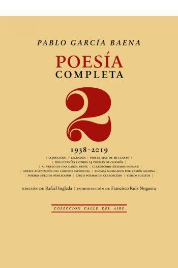 Poesía completa, 2 (1938-2019)