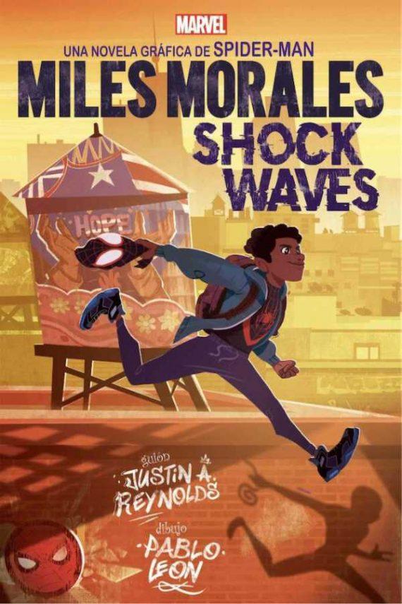 Marvel scholastic. Miles Morales. Shock waves